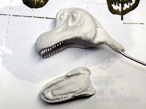 ブラキオサウルスを作るぞ! その3: カズやんの恐竜模型を作るぞ!